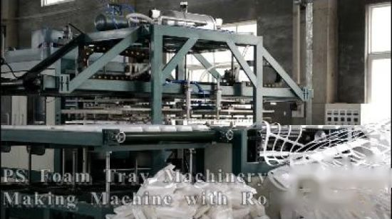 Mousse PS jetables Food Box Making Machine MT105/120