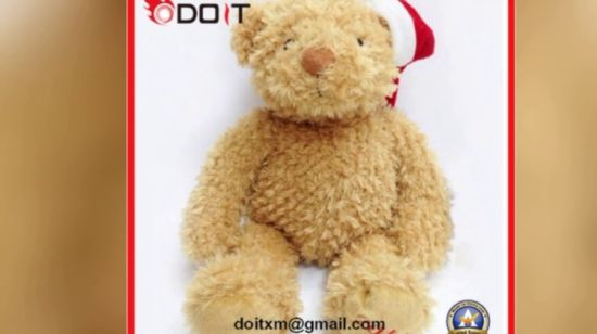 Christmas Bear.Reindeer Moose Plush Stuffed Toy Christmas Teddy Bear