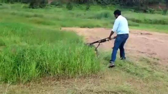 China 4 Benzin Gras Bereich Trimmer Rasenmaher Des Anfall