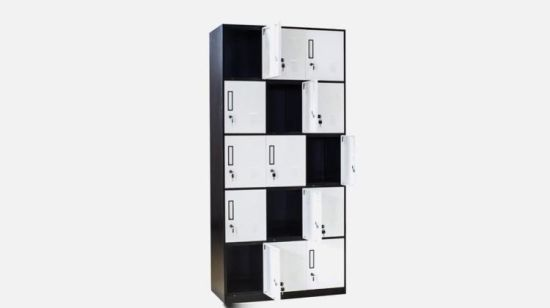 China Factory Price Steel 6 Door Decorative Storage Locker