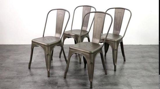 Chine Un style moderne, mobilier de jardin Chaise de salle à