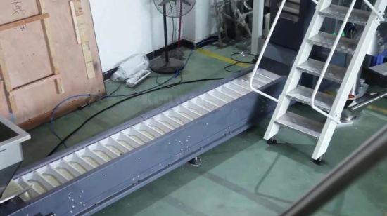 Ленточный транспортер для риса управление рольгангами