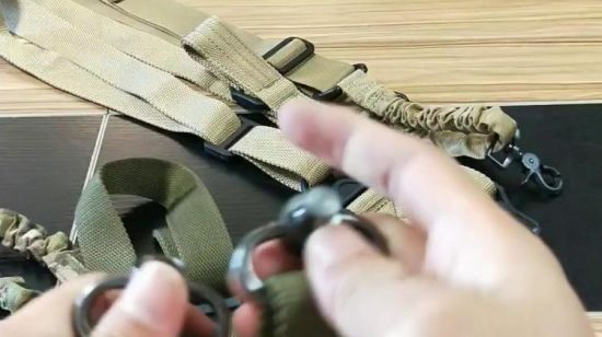 Elastic Vest Sling Heavy Duty US Military Tactical Rifle Bungee Sling