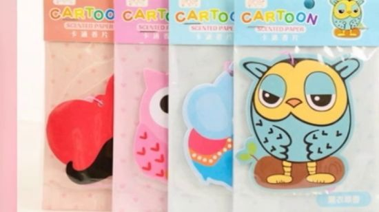 Good SmellのかわいいCartoon Design Car Air Fresheners