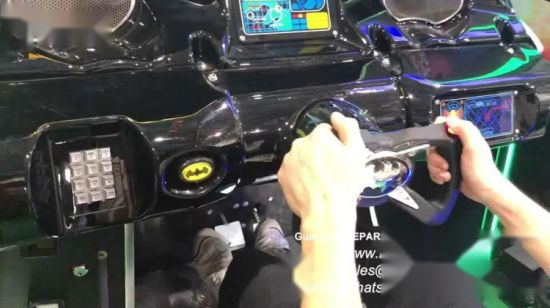 China Japan Arcade Racing Car Simulator 2 In 1 Batman Shooting Video