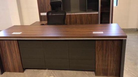 China Precio mayorista de mobiliario de oficina de madera de ...