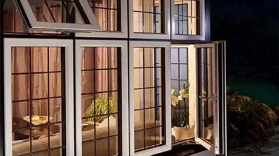 Hot Item America Aluminium Casement Window With Grill Design For Modern House