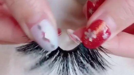 56c356b6fe8 China 25mm Long 3D Mink Lashes Extra Length Mink Eyelashes Big Dramatic  Volume Eyelashes Strip Thick False Eyelash - China Mink Lashes, 25mm Lashes