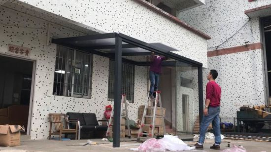 China Pérgola De Aluminio Impermeable Al Aire Libre Juegos
