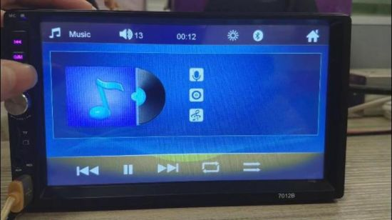 China Universal 2 Double DIN Full Touch Screen Wince Car MP5