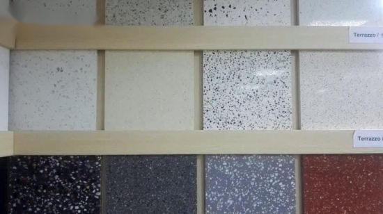 China Cheap Price Red Terrazzo Stone Flooring Tile