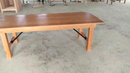 Chine Vintage En Bois De Pin De Mariage En Plein Air Farm Table
