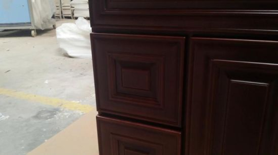 2018 Newly Solid Wood Kitchen Cabinets With Plywood Carcase