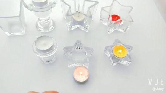 Gl Tea Light Candle Holders