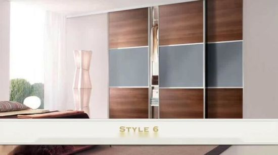 China Whole Bedroom Furniture Ready To Emble Wall Mounted Wardrobe Cabinet Closet