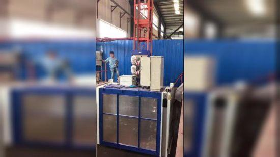 China Temporary Construction Hoist Building Site Hoist Chimney Lift