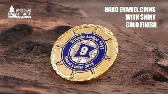 Russian coin Good Luck Metal New Year 2018 Dog Flipping Flip Toss Funny Souvenir