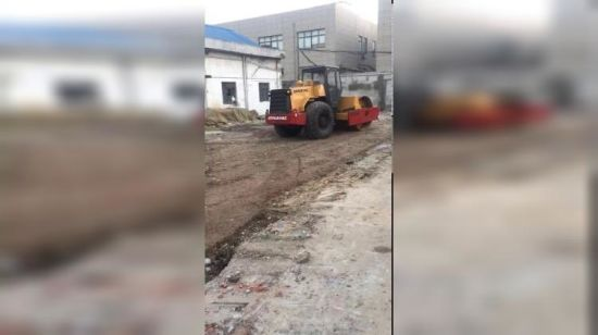 10ton-14 Ton Gebruikt Dynapac Vibratory Road Roller Ca30d/Ca25d Verdichter Road Construction Machinery