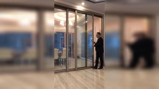 Chine Accueil Français Grill en alliage aluminium portes ...