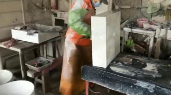 Chine Lavabo en marbre naturel Pierre lavabos de marbre ...