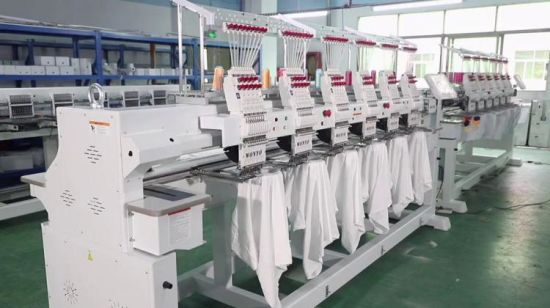 China Automatically Trimmer Feiya Embroidery Machine Computer 6 Head