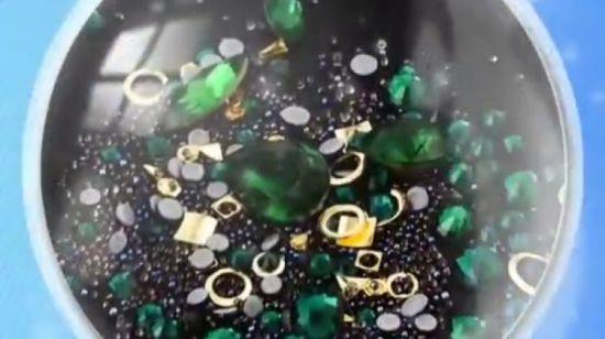 China Mixed Diamond Rhinestones Gemstone Circle 3d Nail Art Glitter