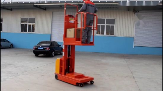 China Warehouse Picking up Equipment Electric Mobile Order