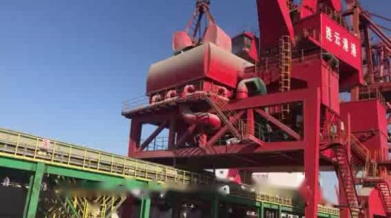 30t Gantry Crane with Four Rope Grab Bucket