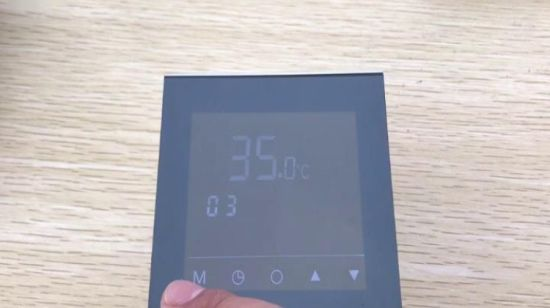 Tela de toque digital LCD AC o Controlador de Temperatura do Termostato