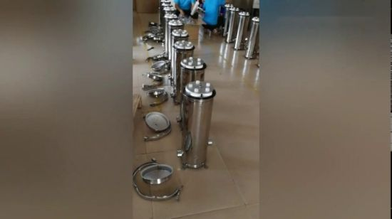China Guangzhou Factory Stainless Steel Water Filtration 5
