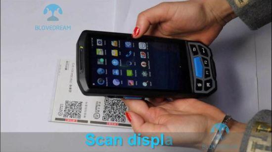 [Hot Item] Android PDA Portable Handheld Biometric Mrz Ocr Passport Scanner  Reader