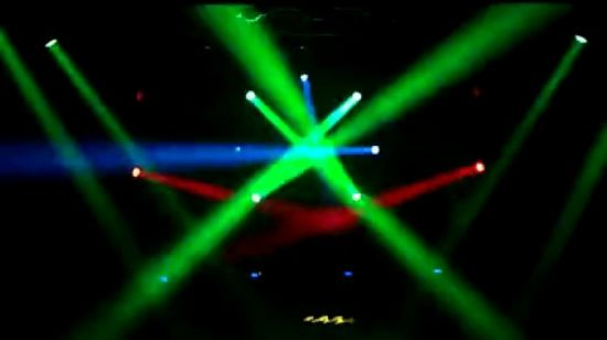 36*18 واط RGBWA UV 6in1 LED Disco/DJ/Club Moving Head Stage Light