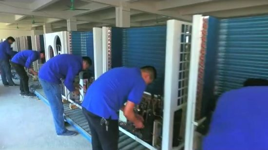 China High Cop Commercial Heat Pump with Heating and Cooling