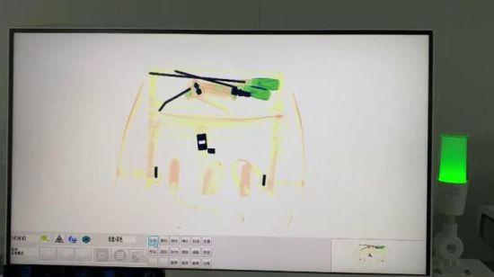 中国 習慣空港の小型X光線のスキャンナー – 購入 x光線のスキャンナー ...