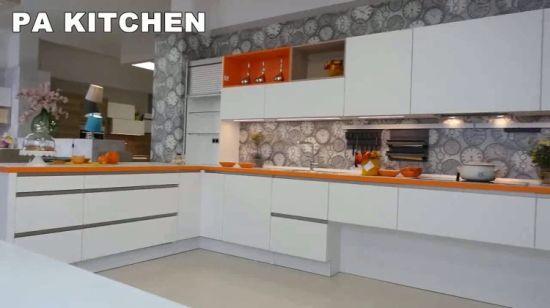 La fabricación completa de derribar los diseños de Gabinete de Cocina de  lujo muebles modernos.