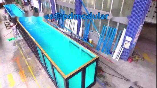 [Hot Item] Shipping Container Swimming Pool Shipping Container Pools