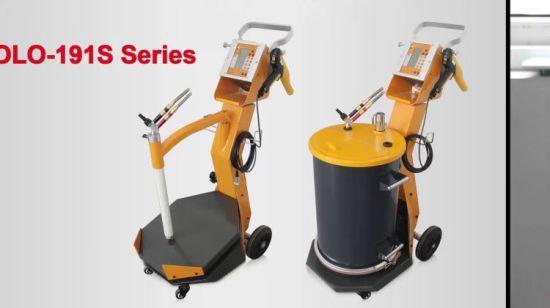 China Manual Powder Coating Gun System Good Sprayer for Wheels or ...