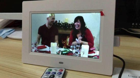 China Sd Usb Video Playback Sideslow 7 Inch Digital Photo Frame
