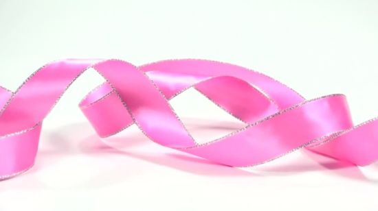 629b6f3e4fb2 China 25mm Pink Polka Dots Printed Satin Ribbon - China Printed Satin Ribbon,  Polka DOT Ribbon