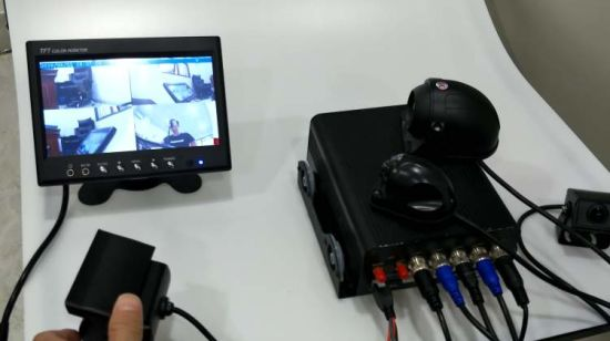 China WiFi Security 3G 4G Android CCTV Mdvr with GPS Tracking