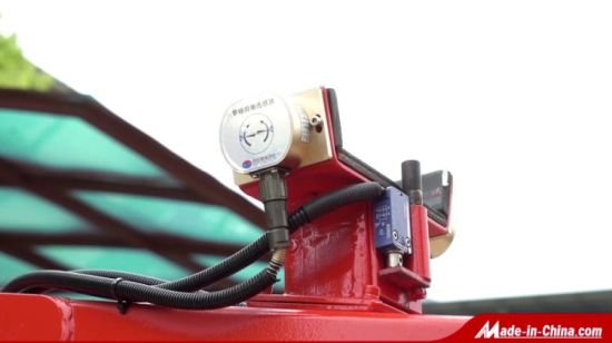 China Diesel Powered Telescopic Hydraulic Spider Boom Lift