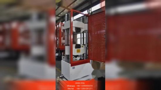 Waw-2000S (2000kN) Computer Control Servo Electric-Hydraulic Material Testing máquina/equipo.