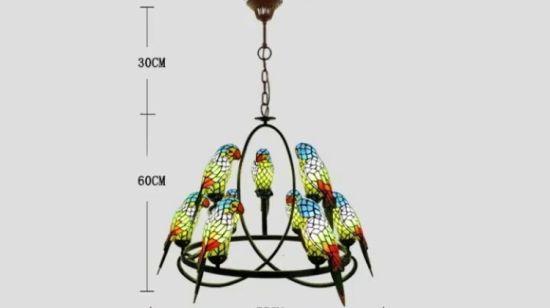 Gl Tiffany Style Chandeliers Lamp