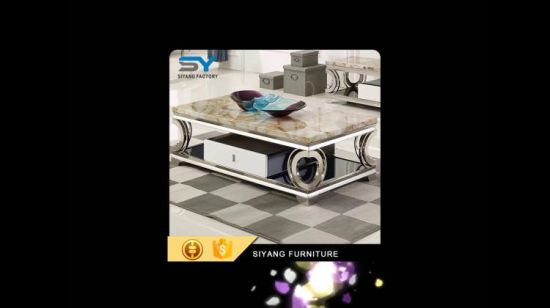 China Heart Shaped Stainless Steel Table Tea Table Factory Coffee