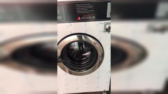 China Vending Commercial Laundry Coin Operated Washing