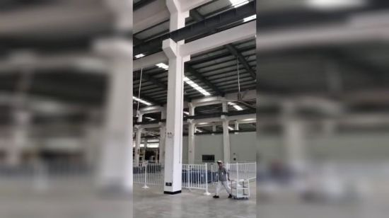 China Cooling Big Industry Warehouse Ventilated Ceiling Fan