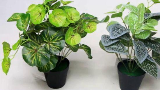 30*36cm kreative künstliche eingemachte Pflanzen für Badezimmer-Dekoration