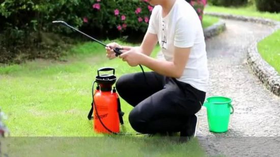 4L Garden Manual Power Knapsack Weed Bug Killer Rucksack Druck Pumpsprüher (SX-CS4F)