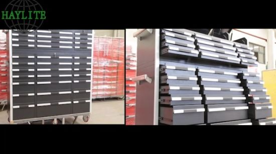 China Heavy Duty Tools Storage Cabinet With 33 Aluminum Handle