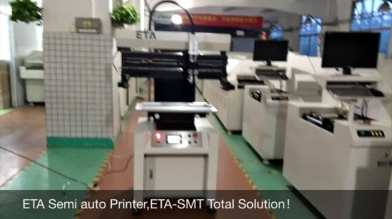 China Semi-Auto PCB Printing Machine /SMT Screen Printing Machine P3